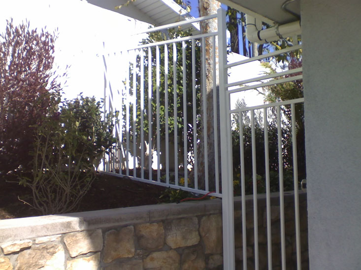 Decorative Iron Fencing Strength And Beauty Avaliable In Los Angeles CA