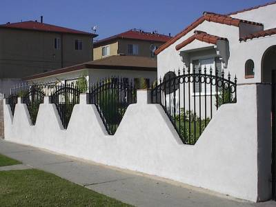 Decorative Iron Fencing Strength And Beauty Avaliable In