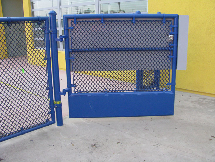 Vinyl Coated Chain Link Fence - A-1 Steel Fence Co., Inc.