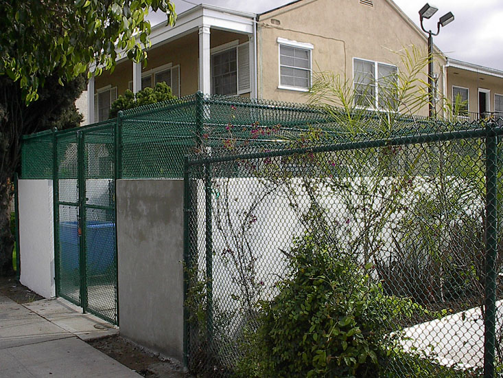 Los angeles chain link fences chain link gates installation and